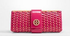 Tory Burch, clutch rosa