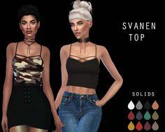 Svanen Top at Leo Sims • Sims 4 Updates