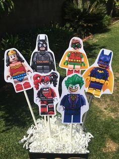 1 Lego Batman inspired Centerpiece  Lego Movie  Lego brick