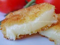 Cascaval pane My Favorite Food, Favorite Recipes, Romanian Food, Romanian Recipes, Yummy Food, Tasty, Appetizer Dips, Cheese Recipes, Vanilla Cake