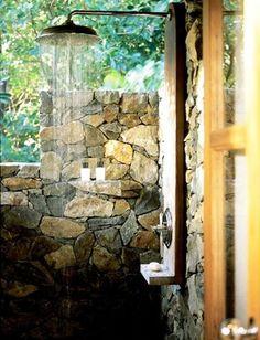 Cool Idea Designs for Outdoor Showers - Outdoor Shower - Ideas - Design - Garden