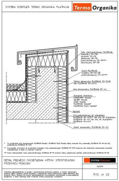 Technical Architecture, Architecture Drawings, Architecture Details, Concrete Cladding, Triangle House, Marine Plywood, House Cladding, Roof Detail, Architectural Section