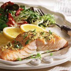 Zesty Salmon - HEALTHY
