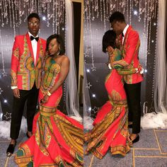 Mariage Afro couple A Silver Cufflink Can Carry Any Darkish Colored Apparel To Life Of all the vario African Prom Dresses, African Wedding Dress, African Fashion Dresses, African Attire, African Dress, African Outfits, African Theme, Ankara Fashion, Long Sleeve Wedding