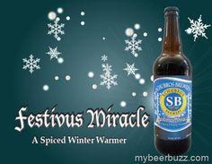 Schubros Brewery Releasing Festivus Miracle 11/16 Sauce Bottle, Beer Bottle, Festivus, Corona Beer, Winter Warmers, Brewery, Spices, Drinks, Health