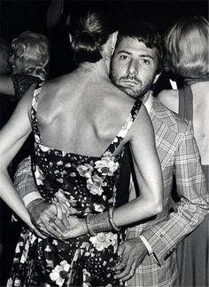 Dustin Hoffman...and dance partner.