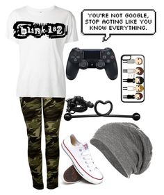 """Untitled #908"" by xxghostlygracexx ❤ liked on Polyvore featuring R13, Converse and Urbanears"