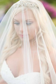 Knoxville, Tennessee veil bridal portraits by Shane Hawkins Photography