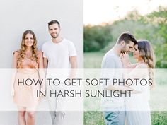 At weddings sometimes we have to shoot around noon, even though it wouldn't be out first choice. I will tell you what I do to still achieve a soft look in my...