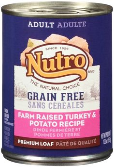 Nutro 50411591 Grain Free Farm Raised Turkey and Potato Recipe Can Dog Food, 12 EA/12.5oz >>> You can get additional details at the image link. (This is an affiliate link and I receive a commission for the sales)