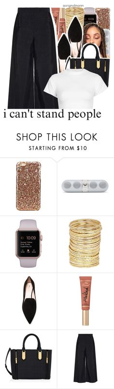"""""""11-26-2016."""" by theimanimo ❤ liked on Polyvore featuring River Island, Nicholas Kirkwood, Henri Bendel, Osman and Motel"""