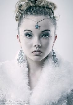 Snow queen by Geoffrey Jones  How like Lady R... Innocent, delicate, beautiful and so very treacherous...