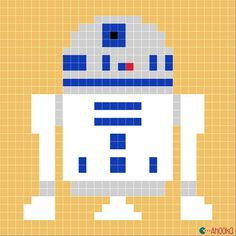 star wars charts by ahooka for crochet but you could use the pics for quilt pattern Crochet Pixel, Star Wars Crochet, Graph Crochet, Crochet Stars, Crochet Blanket Patterns, Cross Stitch Patterns, Star Wars Quilt, Plaid Au Crochet, Scrappy Quilts