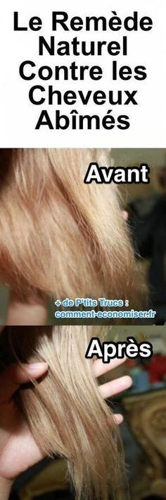 """soigner cheveux abimes naturellement avec huile d'amande douce et le fer à vape. """" Hair Care, You can throw out your unnatural conditioners, hair serum, and styling products, and replace them with this coconut oil which is an all-natural proble. Damaged Hair Remedies, Hair Remedies For Growth, Hair Growth, Hair Dandruff, Dandruff Remedy, Beauty Care, Beauty Hacks, Hair Beauty, Hair Blond"""
