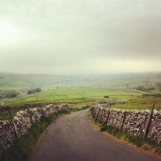 Yorkshire views. Looks like Middle Earth to me.