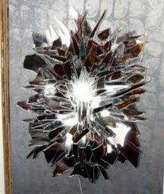 1000 images about mirror projects idea 39 s on pinterest for Broken glass mural