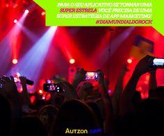 Quer um aplicativo que faça sucesso com os fãs da sua empresa?     Via http://autzon.com #DiaMundialDoRock #appmarketing #autzon #aplicativos #negócios #empreendedorismo #consultoriagrátis #dicadodia #marketing #internetmarketing #internet #webmarketing #empreendedor #empreender #onlinemarketing #forca #foco #determinação #onlineadvertising #advertising #publicidade #fotododia #segue #like #fun