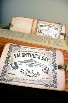 Valentine's Day // Pink // Confectionary Label //
