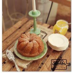 Sweet bundt cake set 1/12 scale