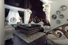 Гламурная спальня