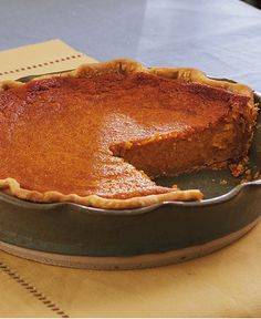Treat your family with this delicious roasted sweet potato pie made using Pillsbury® refrigerated pie crust – a perfect baked dessert.