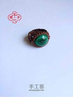 Macrame Jewelry Tutorial, Macrame Rings, Ring Tutorial, Micro Macrame, Fiber, Gemstone Rings, Jewelry Design, Crochet, Crafts To Make