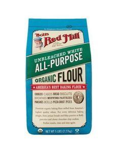 Bobs Red Mill Organic Flour White All Purpose Flour 5 lb USDA Organic #Unbranded