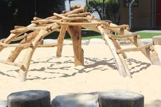 This is a great natural addition for an outdoor environment., This is a great natural addition for an outdoor environment. Kids Backyard Playground, Playground Design, Backyard For Kids, Playground Ideas, Outdoor Play Structures, Outdoor Play Spaces, Outdoor Areas, Kids Play Equipment, Outdoor Classroom