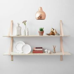 Assemblages Leather Shelves by Lightly | Est Magazine