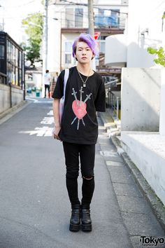 Shuhei, 18 years old, student | 14 August 2015 | #Fashion #Harajuku (原宿)…