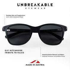💥Gi27 Hitchhiker Falco Edition! Mehr dazu auf www. gloryfy.com Tribute, Unisex, Wayfarer, Lifestyle, Sunglasses, Collection, Optical Eyewear, Sunnies, Shades