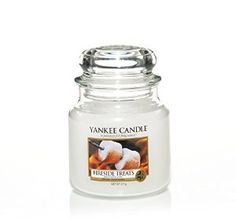 Yankee Candle Fireside Treats Medium Jar (New for 2013): Amazon.co.uk: Kitchen & Home