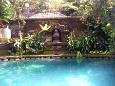 Design for Life Balinese Garden, Bali Fashion, Stone Carving, Tropical Paradise, Atrium, Garden Styles, Landscape Design, The Good Place, Exotic