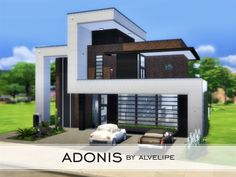 This is Adonis! A luxurious and cozy home for a single sim or just a couple built on a 30x20 lot and located in Newcrest. On the first floor, there's a social bathroom, living area with kitchen,...
