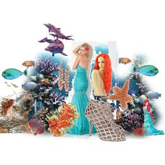 Little mermaid by alleygrl on Polyvore