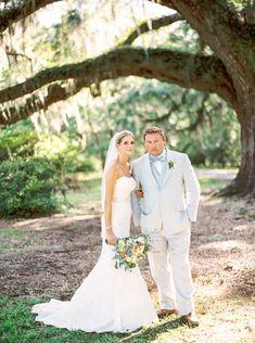 Pastel Magnolia Plantation Wedding // Morgan + Dustin - Coastal Bride