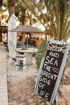 Decoration Restaurant, Restaurant Design, Restaurant Bar, Rustic Restaurant, Ibiza, Schönheitssalon Design, Khao Lak Beach, Playa Beach, Bright Side Of Life