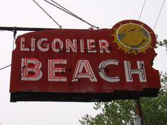 Ligonier Beach in Ligonier PA