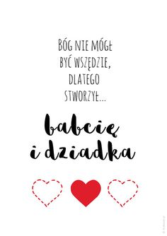 Plakat dla dziadków - Bóg nie mógł być wszędzie Diy And Crafts, Crafts For Kids, Life Hackers, Homemade Greeting Cards, Happy Photos, Grandparent Gifts, Grandparents Day, Diy Cards, Cross Stitching