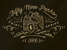 Happy to have done some branding work for @fiftynineparks recently, make sure to…