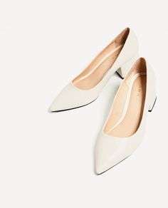 a95bb5f1562 Image 1 of WIDE MEDIUM HEEL SHOES from Zara Τακούνια Παπουτσιών, Γυναίκα,  Παπούτσια,