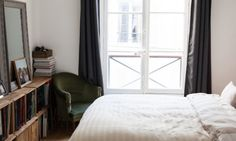 home tour: lovely flat in Paris, with Morgan, Thibault & Nina  / via The Socialite Family