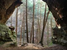 Man Cave Fort Nelson : Devil's bathtub at old man's cave hocking hills ohio beautiful