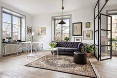 Inspiración Deco: 42 metros cuadrados de estilo clásico renovado