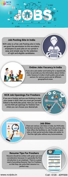Resume Posting Sites Ncrjobs Jobncrjobs On Pinterest