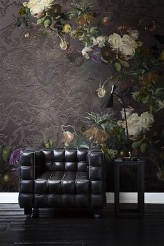 These gorgeous wall murals are inspired by the famous paintings hanging in the Rijksmuseum, Amsterdam, and are Galerie Wallcoverings' newest collection