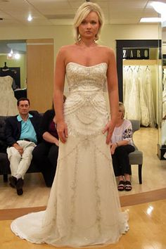 Dress from Say Yes to the Dress Season 3...  Love it!