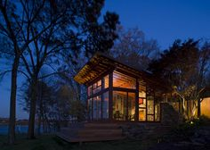 Glass Studio - Bohl Architects, Annapolis MD. Waterfront home. Architecture. Chesapeake Bay. Maryland. Design. Modern.