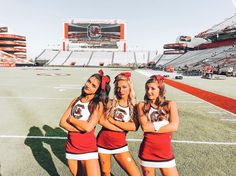 """Meredith Waples on Instagram: """"One of those kinda games... #gameface #cocksby90 #hurricaneszn"""" Cheerleading Picture Poses, Cheer Picture Poses, Cheerleading Cheers, Cheer Poses, College Cheerleading, Cheer Stunts, Cheerleading Outfits, Cheer Team Pictures, Softball Senior Pictures"""