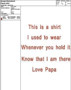 Embroidery Digital File Papa's Shirt by DixieCharmm on Etsy